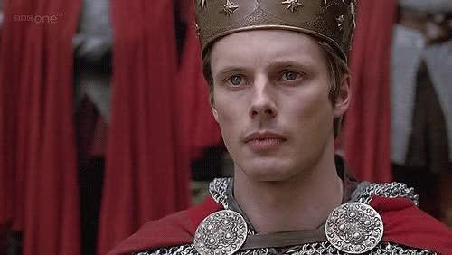 Watch and share Arthur Meets Mithian King Arthur Pendragon And Princess Mithian GIFs on Gfycat