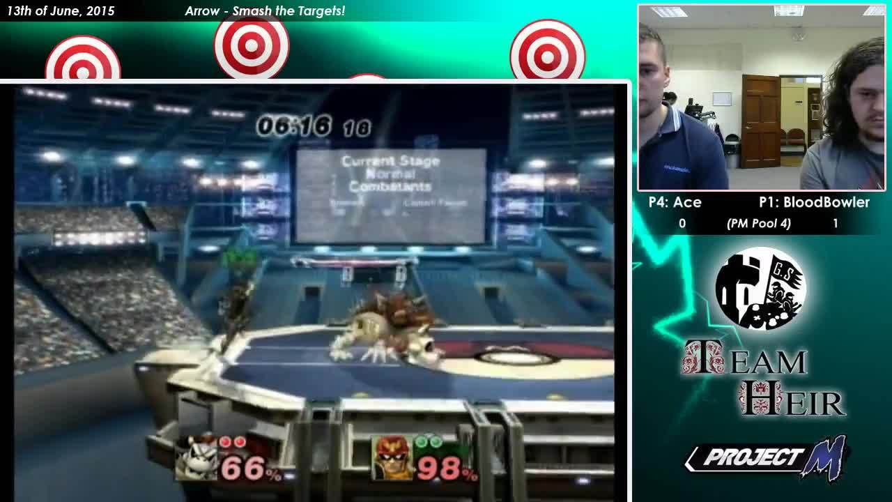 PM Pool 4 - Ace (Captain Falcon) Vs. BloodBowler (Bowser) (reddit) GIFs