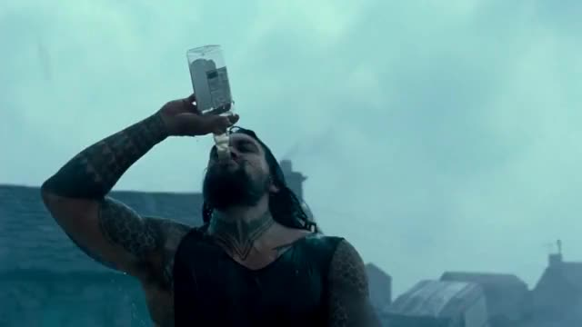 Watch this aquaman GIF on Gfycat. Discover more Aquaman, aquaman, jason momoa, whiskey GIFs on Gfycat
