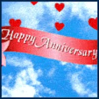 Watch and share Happy Anniversary Hearts GIFs on Gfycat