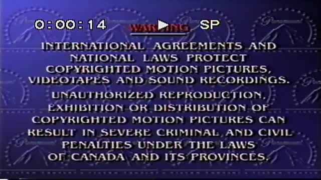 Watch and share Paramount Home Video Canadian Copy FBI Warning VHS Tape Cassette GIFs by iPad Badour on Gfycat