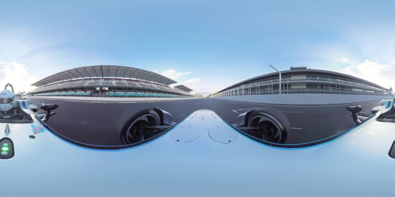 fia formula e championship, formula e, gifs, Damien Walters Formula E Backflip In 360 Degrees GIFs