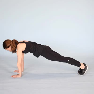 Watch and share 400x400 Plank Jacks Plank Side Taps GIFs by Healthline on Gfycat