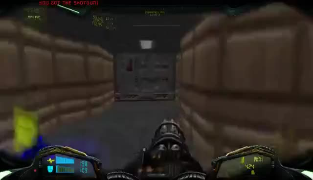 Brutal Doom Minigun Chaingun Meat Grinding Gif Find Make Share
