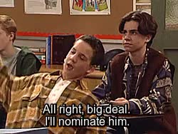 Watch get up, get out, get on; GIF on Gfycat. Discover more Alvin Meese, Boy Meets World, Cory Matthews, Farkle Minkus, Girl Meets World, Jonathan Turner, and probably wouldn't have found one anyway lmao, bmw 2x14, gm friendship, gmwedit, i was going to look for a logoless of friendship but i got lazy, mystuff, the rebel GIFs on Gfycat
