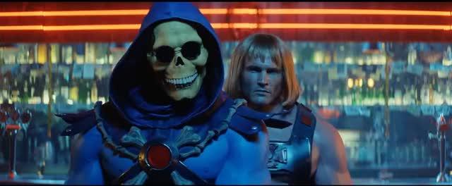 Watch and share He-Man E Esqueleto Dançam Ao Som De Dirty Dancing GIFs on Gfycat