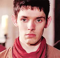 Watch and share Your Face Sir GIFs and Colin Morgan GIFs on Gfycat