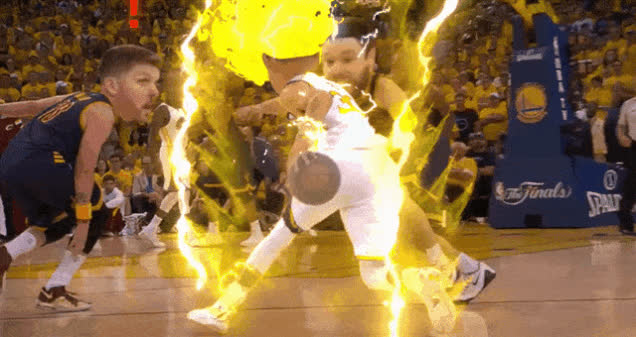 StephCurry, basketball, supersaiyangifs, Steph Curry Super Saiyan GIFs