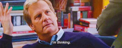 Watch and share Jeff Daniels GIFs and Thinking GIFs on Gfycat