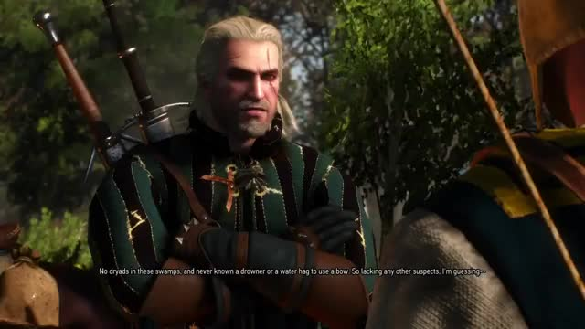 """Watch """"There's Nothing Behind Me"""".... GIF on Gfycat. Discover more PS4share, PlayStation 4, Sony Interactive Entertainment, The Witcher 3: Wild Hunt GIFs on Gfycat"""