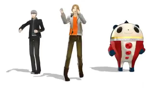 Watch and share MMD - Persona 4 On Drugs GIFs on Gfycat