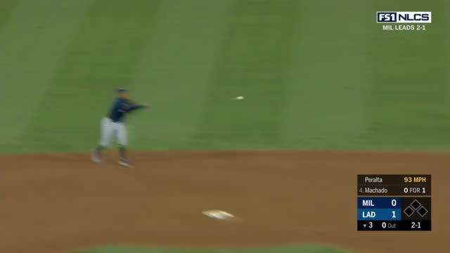 Watch and share Los Angeles Dodgers GIFs and Milwaukee Brewers GIFs by craigjedwards on Gfycat