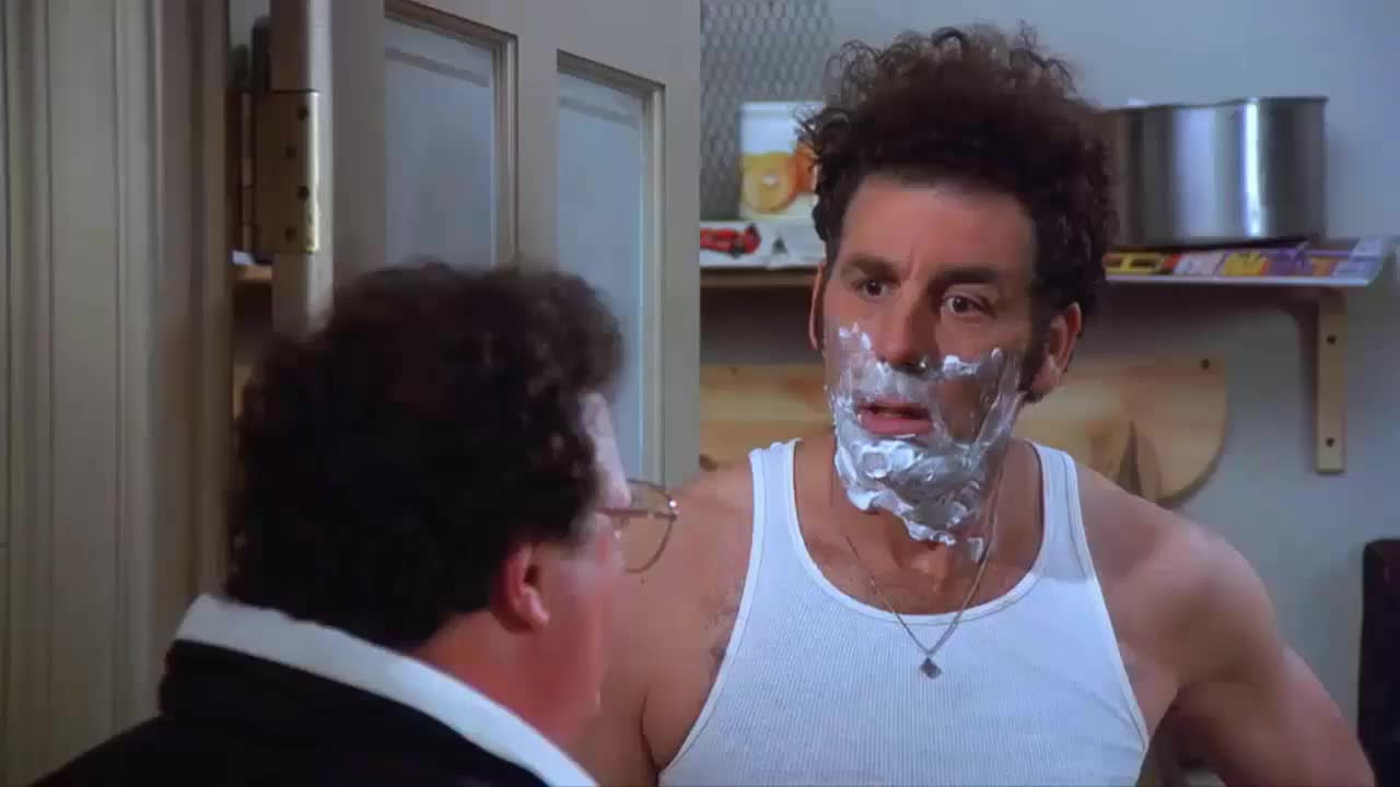 happy mothers day, kramer, michael richards, mothers day, newman, seinfeld, wayne knight, Kramer Newman Mothers Day GIFs