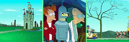 Watch and share In The Year 252525 GIFs and Futurama Nerd GIFs on Gfycat