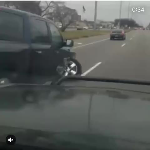 Watch and share This Car Driving With A Wheel Absolutely Messed Up GIFs on Gfycat