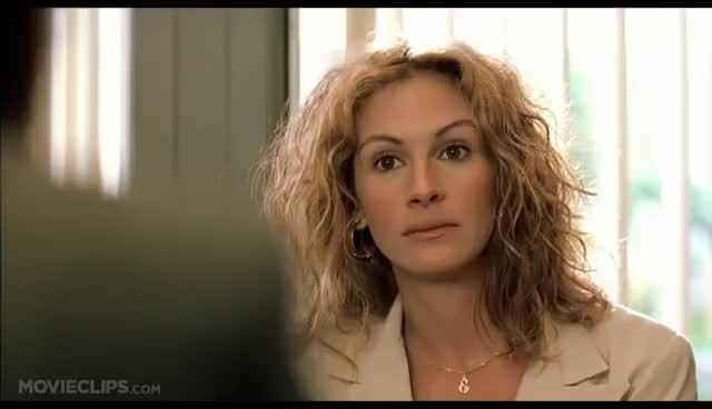 Watch and share A Lame-Ass Offer - Erin Brockovich (6/10) Movie CLIP (2000) HD GIFs on Gfycat
