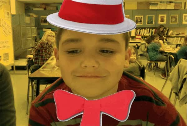Watch and share Cat-in-a-hat-ify Your Students GIFs on Gfycat