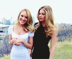 Watch and share Candice Swanepoel GIFs and Doutzen Kroes Gif GIFs on Gfycat
