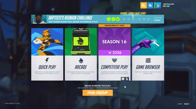 Watch RoleQueue 2-2-2 Competitive GIF by @greyfalconow on Gfycat. Discover more related GIFs on Gfycat