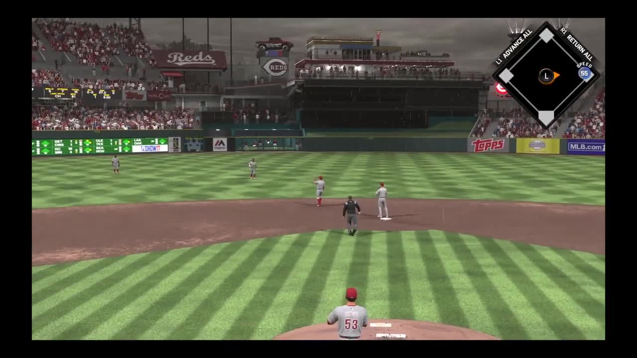 MLBTheShow, ps4share, sony interactive entertainment, Possessed Umpire GIFs