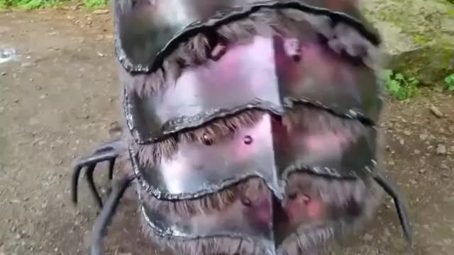 Watch and share An Awesome Cosplay Of The Garthim Creature From The Dark Crystal GIFs by tothetenthpower on Gfycat