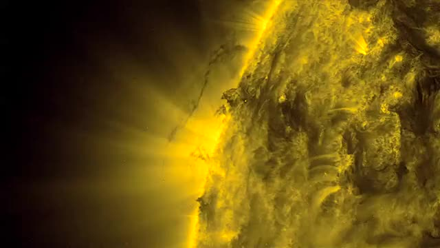 NASA Viz Tornadoes On The Sun