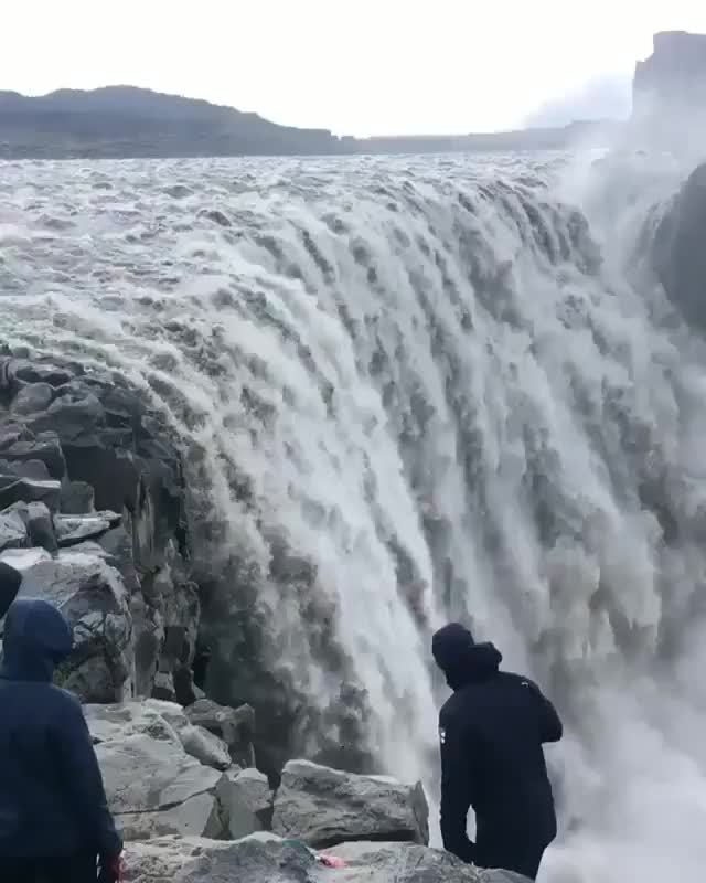 Watch Dettifoss, Iceland GIF on Gfycat. Discover more related GIFs on Gfycat