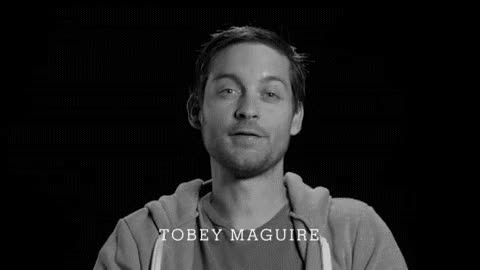 Watch and share Tobey Maguire GIFs on Gfycat