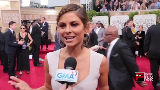 Watch and share Maria Menounos - Golden Globes GIFs on Gfycat