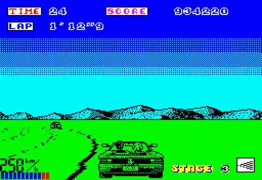 48k, Longplaysorg, Outrun, Racing, Spectrum 128k, Zx Spectrum Computer, end, intro, opening, spectrum, ZX Spectrum Longplay [012] Outrun GIFs