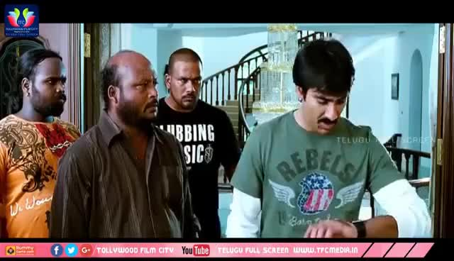 Watch and share Ravi Teja Telugu Latest Movie | Nagababu | Richa Gangopadyaya | Deeksha Seth |Telugu Full Screen GIFs on Gfycat