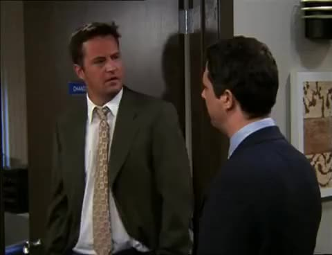 Watch and share Chandler Bing GIFs and Friends GIFs on Gfycat