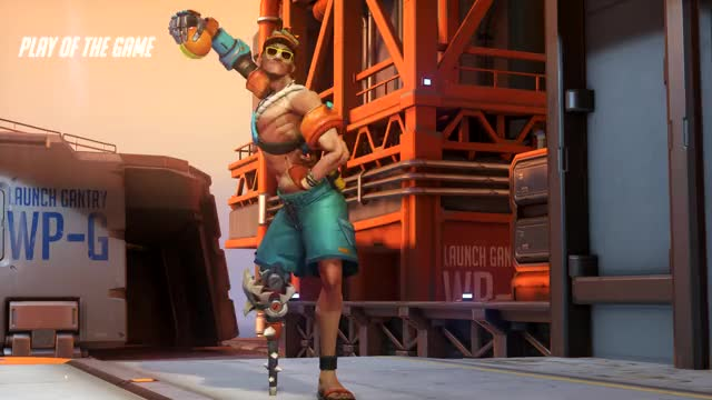 Watch WALL RIDER GIF by Ironback (@ironback) on Gfycat. Discover more Junkrat, Overwatch, Play of the Game GIFs on Gfycat