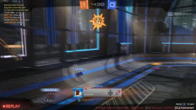 Watch and share Rocket League GIFs and Rumble GIFs by keinonen on Gfycat