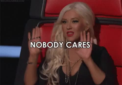 Watch and share Christina Aguilera GIFs and Nobody Cares GIFs by Reactions on Gfycat