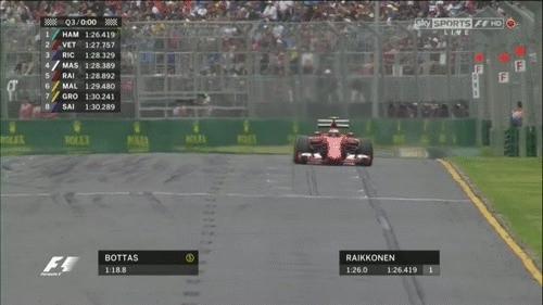 formula1gifs, Bottas' Q3 moment (broadcast) - Australia 2015. (reddit) GIFs