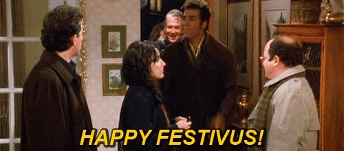 festivus, happy festivus, holiday, seinfeld, Happy Festivus! GIFs