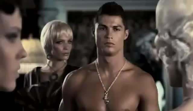 cristiano ronaldo, Cristiano Ronaldo TIME FORCE Commercial GIFs