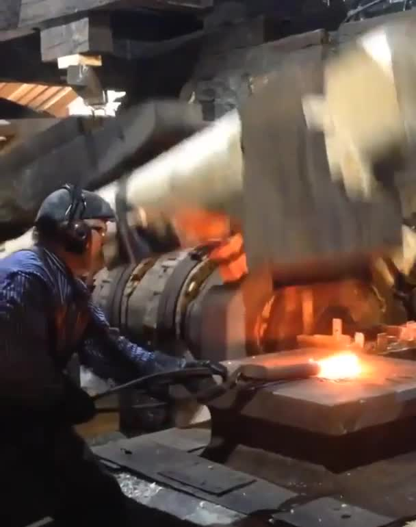 Watch and share Centuries-old Hammer Mill At Work GIFs by tothetenthpower on Gfycat