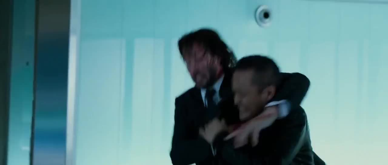 john wick, john wick 2, john wick chapter 2, movies, John Wick Chapter 2 Killing Contract Assassins Pencil Kill Scene GIFs