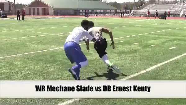 Mechane Slade uses the foot drag
