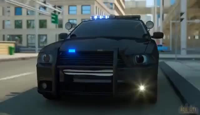 Sergeant Cooper The Police Car Part