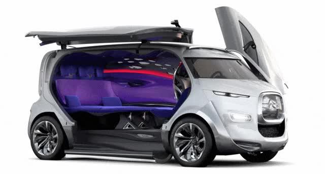 Watch and share Concept Flashback Citroen Tubik Doors GIFs on Gfycat