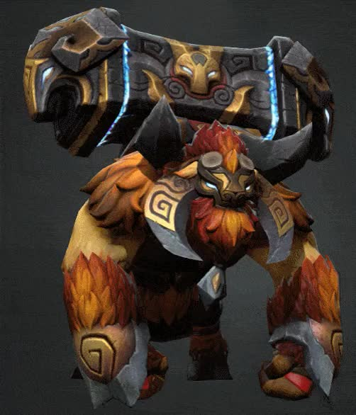 Watch and share The Ironhoof Guardian, Earthshaker Set GIFs on Gfycat
