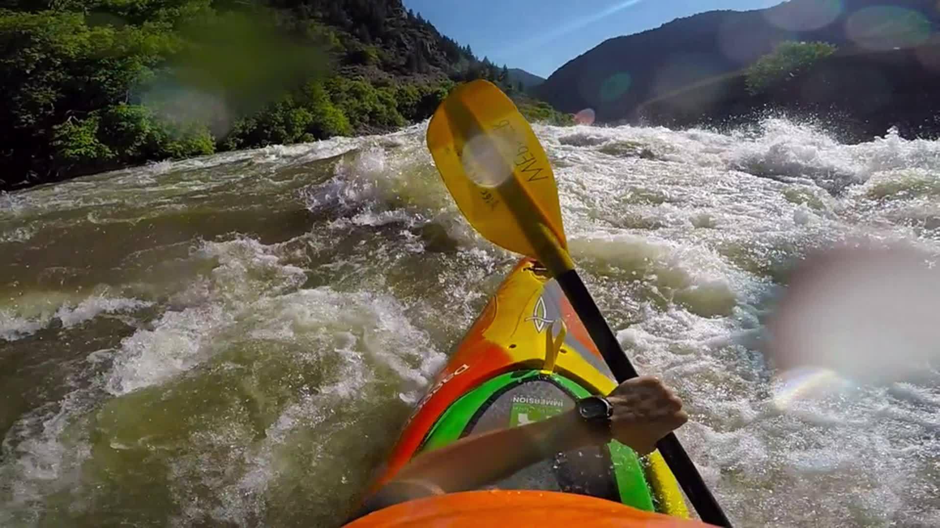 kayak, whitewater, Shoshone 13k GIFs