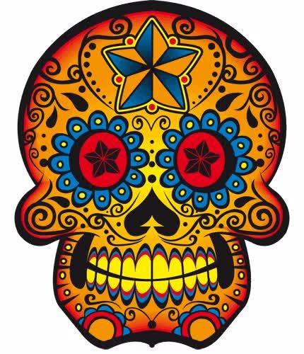 Watch and share Dia De Los Muertos GIFs on Gfycat