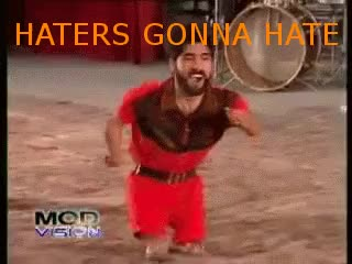 Watch and share Haters Gonna Hate GIFs by Reactions on Gfycat