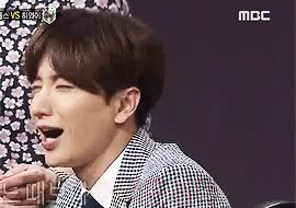 Watch Leeteuki GIF on Gfycat. Discover more 150809, ^^, king of mask singer, leeteuk, super junior, tkgif GIFs on Gfycat