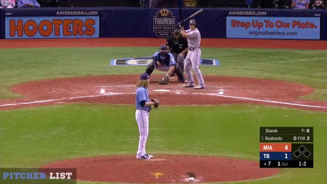 Watch Ryne Stanek CH 7-22-18 GIF on Gfycat. Discover more Miami Marlins, baseball GIFs on Gfycat