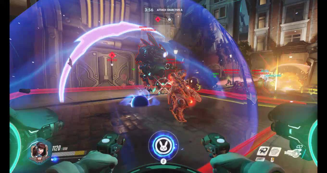 overwatch, explosions! GIFs